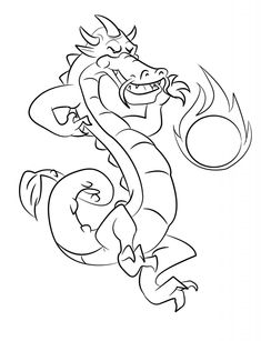 dragon coloring pages for teenagers - Space Jam Monstars Coloring Pages