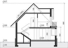 DOM.PL™ - Projekt domu Dom przy Sielskiej 2 CE - DOM EB2-85 - gotowy koszt budowy 1 Story House, Best House Plans, Home Design Plans, Floor Plans, House Design, How To Plan, Home Decor, Villas, Houses