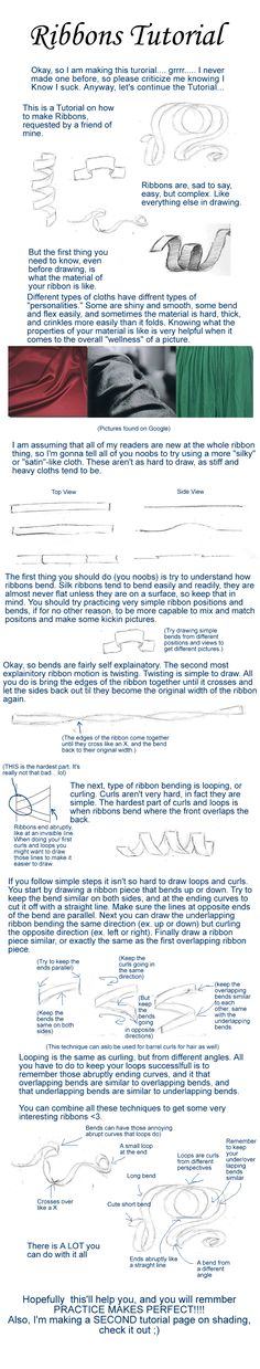 Ribbon Tutorial by my-star-seeker