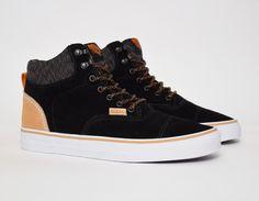 #Vans Era Hi CA Suede Black #sneakers