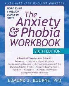 Cover image for The anxiety and phobia workbook