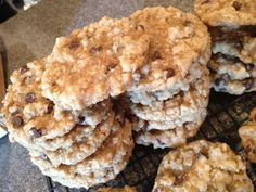 Hives in the Kitchen: Allergy Free Oatmeal Chocolate Chip Cookies