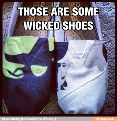 """Wicked"" Shoes"