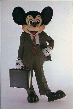 Old Disney Postcards, 1980s WDW