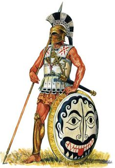 Apex of the Hoplite late 6th century by Marek Szyszko