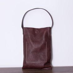 Women casual Leather handbag
