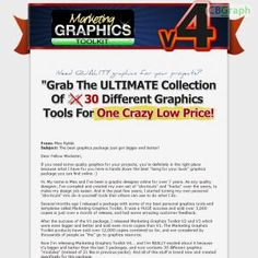 The Ultimate Graphics Collection... 30 Modules Of Premium Quality And Original Graphics Tools For One Crazy Low Price. See more! : http://get-now.natantoday.com/lp.php?target=mgtoolkit