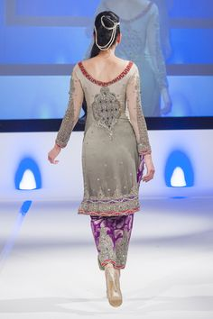 Shazia Kiyani at Pakistan Fashion Extravaganza London 2014
