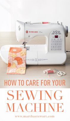 How to Care for Your Sewing Machine | Martha Stewart Living - Regular upkeep should keep your machine in tip-top shape.
