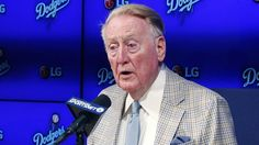 GOAT broadcaster Vin Scully explains the meaning of GOAT http://ift.tt/1UUJr7l  Vin Scully in his 67th season as a Los Angeles Dodgers broadcaster hails from an era when youd be lucky to catch a sports game on TV.  These days digitally addicted young sports fans furiously shout into the wind on social media and throw around acronyms like GOAT to describe the players they admire.  What does GOAT mean? Let the 88-year-old Scully explain. Its adorable.  SEE ALSO: Villanova coach Jay Wright had…