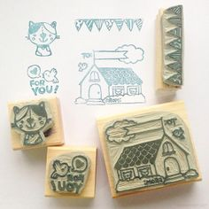 WOW!! Professional illustrator Reggie the Wedgie creates super cute stamps with the Stampin' Up! Undefined kit