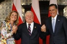 Anti-Communist Leader Lech Walesa to Mitt Romney: You Need to Be  Successful for US & Rest of the World Too