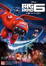Big Hero 6 The special bond that develops between plus-sized inflatable robot Baymax, and prodigy Hiro Hamada, who team up with a group of friends to form a band of high-tech heroes.