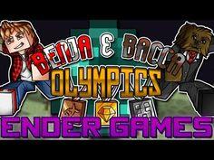 Minecraft: Benja & Bacca Olympics Game 3 - The Ender Games! Ender's Game, Olympic Games, Olympics, Minecraft, Comic Books, Cartoons, Comics, Comic Book, Graphic Novels