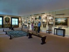 Gallery, Anglesey Abbey.