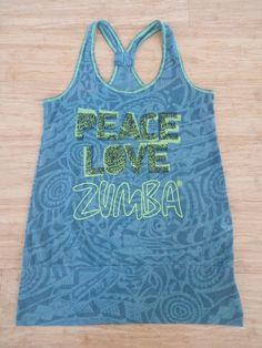 Zumba Peace Bubble Tank T.S 16,00 € top fitness sport sportswear femme women débardeur