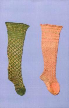 Knitted stockings at the Met Renesanssi, 1600-luku, Sukkahousut, Puvut, Asusteet, Sukat, Kihlajaiset, Baroque, Keskiaika