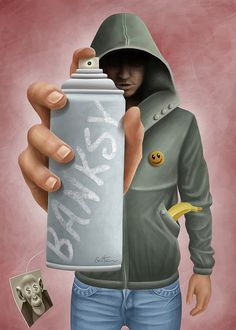 Banksy by Ben Heine, via Flickr