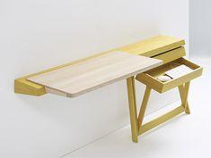 Pivot Desk and Pivot Vanity by Shay Alkalay
