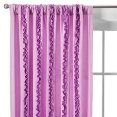 "Circo® Ruffle Panel - Purple (54 x 84"")"