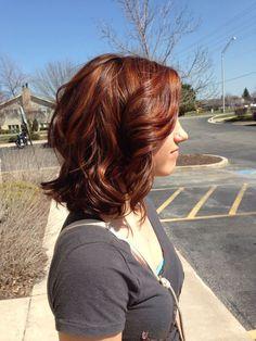 Spring copper!! #highlights #redken: