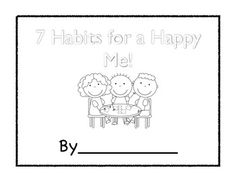 7 Habits for Happy Kids Reflective Journal and Goal Setting Guide