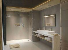 Concrete bathroom - Côté Maison