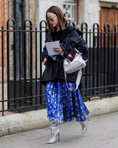#streetstyle during  #lfw from @we_wore_what's closet