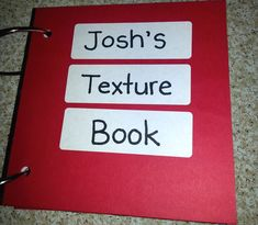 Creating a texture book for students with visual impairments and multiple disabilities