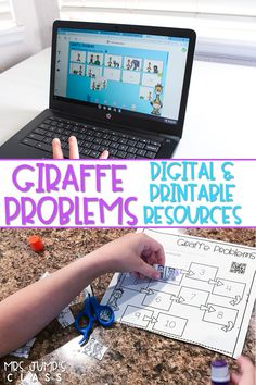 Digital learning reading lesson plans that work great for distance learning. This unit features the story, Giraffe Problems by Jory John. Students build reading comprehension skills by responding to literature. Nonfiction activities also included!
