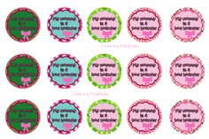 I like big freebies: My Mommy is a bow hoarder (2 of 2) bottlecap image...