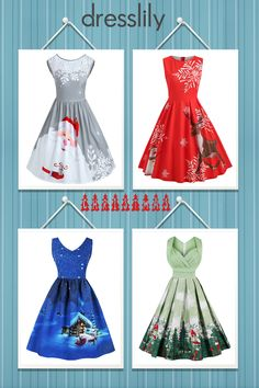 Buy the latest Christmas dresses cheap prices, and check out our daily updated new arrival cute, funny and long Christmas dresses at dresslily. #dresslily #dresses #christmas