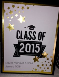 Stampin' Up! Class of 2015.