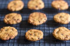 Chocolate Chip Cookies (nut free) #justeatrealfood #grassfedkitchen