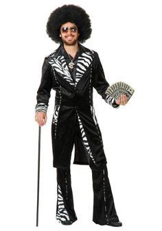 0678a2acf8b Plus Size Mac Daddy Pimp Costume 3X. Pimp Costume MenDiy ...