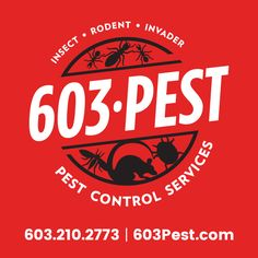 603 Pest Control Logo. Pest control services in Hooksett, NH