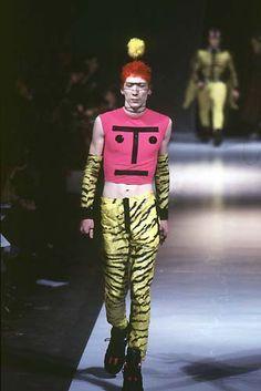 W&LT Walter Van Beirendonck, Feeling Fine, Ronald Mcdonald, Men's Fashion, Comics, Random, Color, Inspiration, Moda Masculina