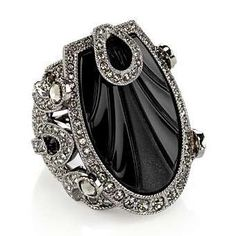 Sylphlike Art Deco Cabaret Ring from Dior