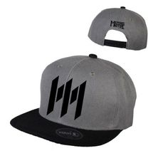 Memphis May Fire - Charcoal Black Snapback Hat