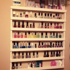 My cousin, Cyndi, is a Pinterest-a-holic. But, unlike me, she actually executes her pins. She has a tremendous board on nail manicure designs she's done, nail manicure ideas she wants to tackle, and a slew of DIY craft projects to complete. One of the pins she had been dying to tackle (with the help of …