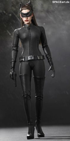 Batman - The Dark Knight Rises: Catwoman - Deluxe Figur, Fertig-Modell, spaceart. Catwoman Cosplay, Dark Knight Rises Catwoman, The Dark Knight Rises, Batman The Dark Knight, Anne Hathaway Catwoman, Barbie Celebrity, Catwoman Selina Kyle, Black Cat Marvel, Hot