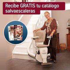 Recibe #gratis tu catálogo #salvaescaleras en casa, pincha en la imagen para pedirlo. #TKEC