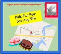 Omemee Kawartha Lakes #Ontario August 9 Kids Fun Fair! Omemee - Downeyville Children's Centres host a fun fair! Bouncy Castle, Cake Walk Face Painting Raffle Prizes!