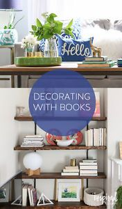 Ideas for Decorating with Books | eBay