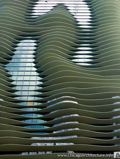 Aqua building by Studio Gang