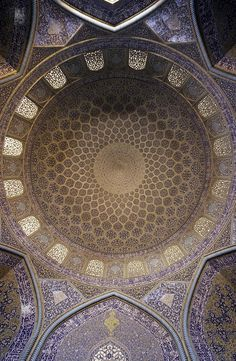 Sheikh Lutf Allah Mosque | Islamic Arts and #architecture  #design