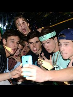 Cam, jack, jack, matt, nash, taylor, and shawn