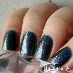 Lilypad Lacquer Magic At Midnight