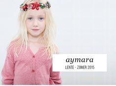 Online kinderkleding van Aymara :  een leuke stijlvolle gebreide gilet of cardigan
