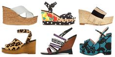 Step into a wedge this spring! Shop 32 sandals perfect for your closet.